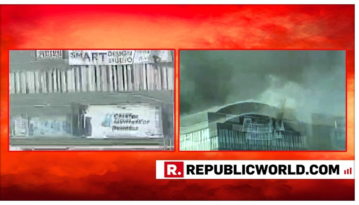 FIRE BREAKS OUT IN SURAT SHOPPING COMPLEX, MANY FEARED TRAPPED: LIVE UPDATES HERE