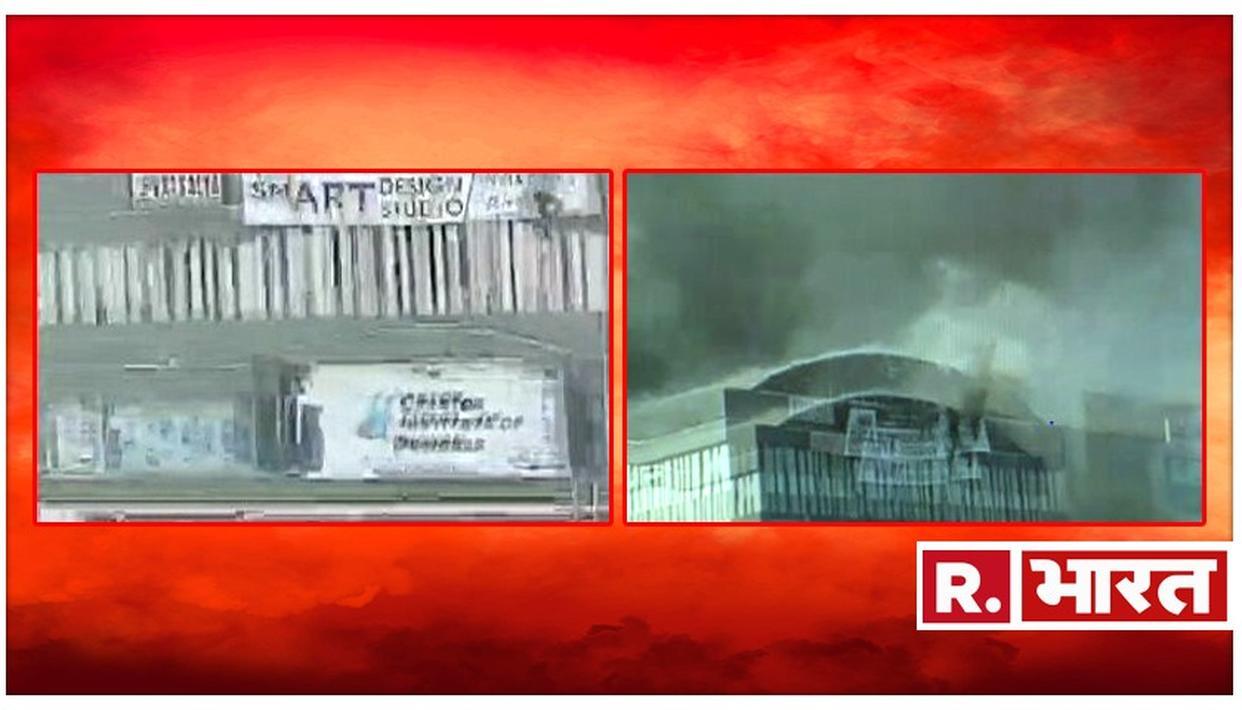 गुजरात : सूरत के तक्षशिला कॉम्पलेक्श में लगी भीषण आग, आग में झुलसकर कोचिंग सेंटर के 12 छात्रों की मौत