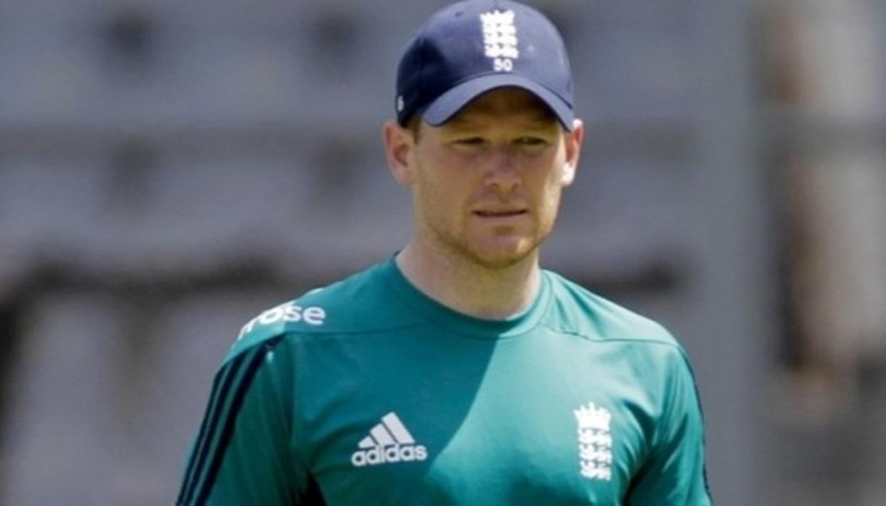 ENGLAND SKIPPER EOIN MORGAN INJURES FINGER DURING PRACTICE