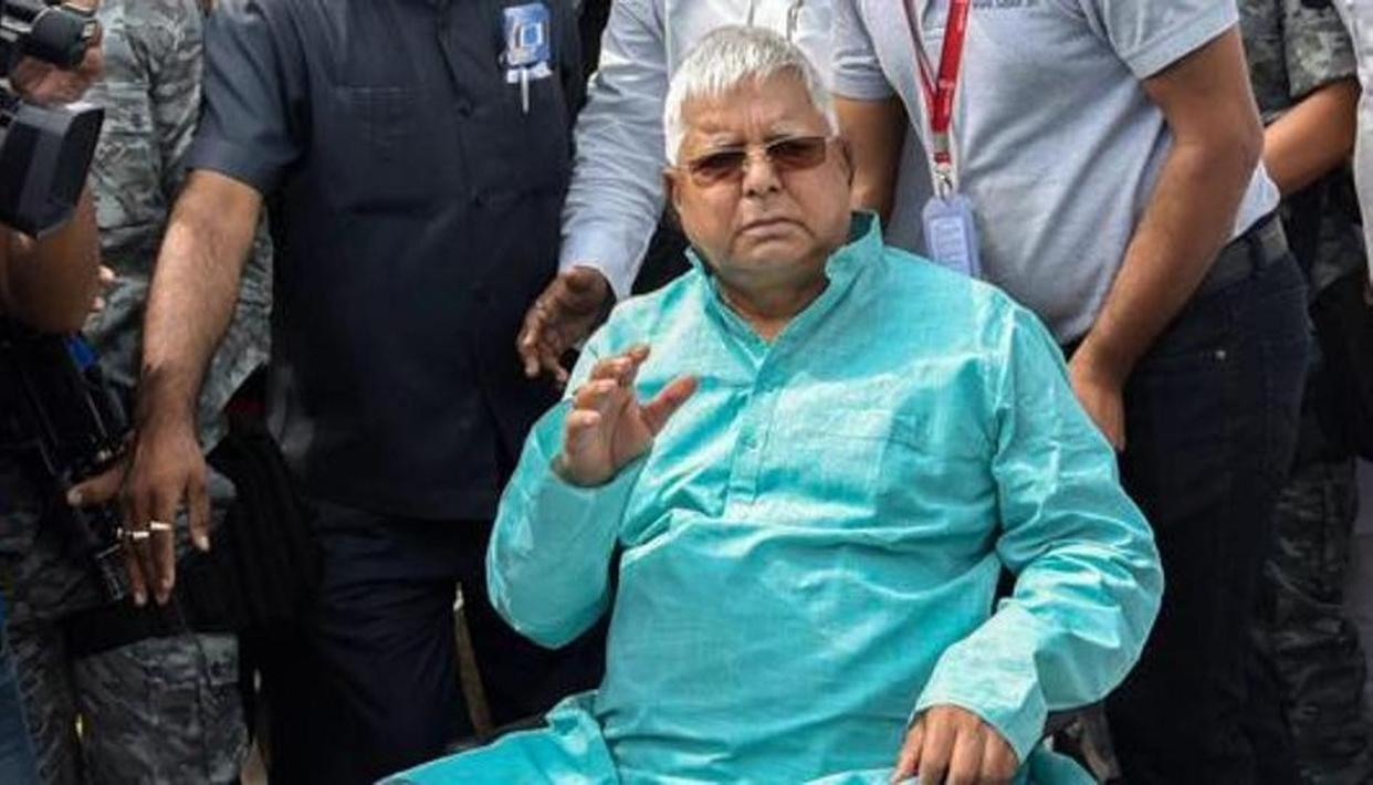 LALU'S MEAL SCHEDULE DISTURBED SINCE RESULTS, DOCTORS VOICE CONCERN