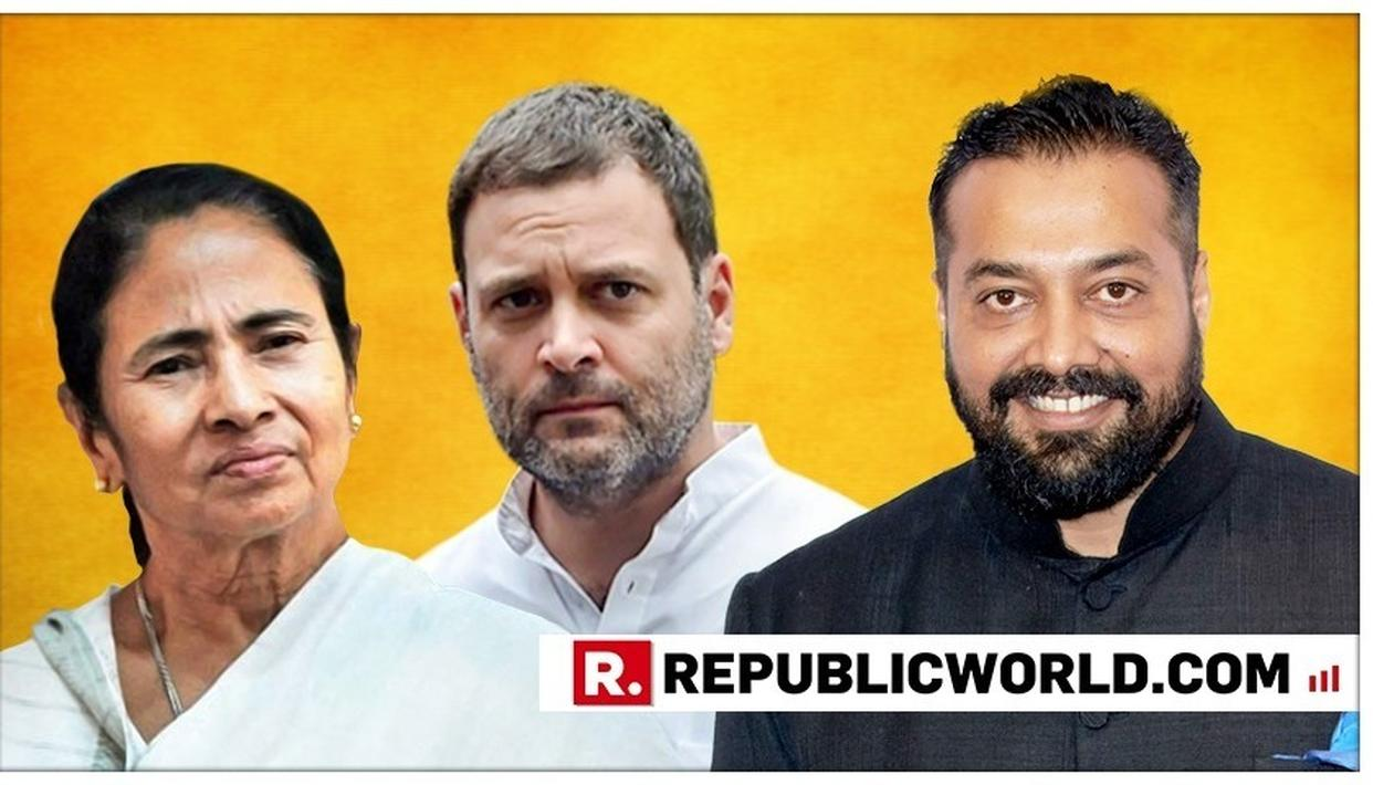 ANURAG KASHYAP TAKES CRACK AT MAMATA BANERJEE'S AND RAHUL GANDHI'S 'REJECTED RESIGNATIONS', NETIZENS CONCUR