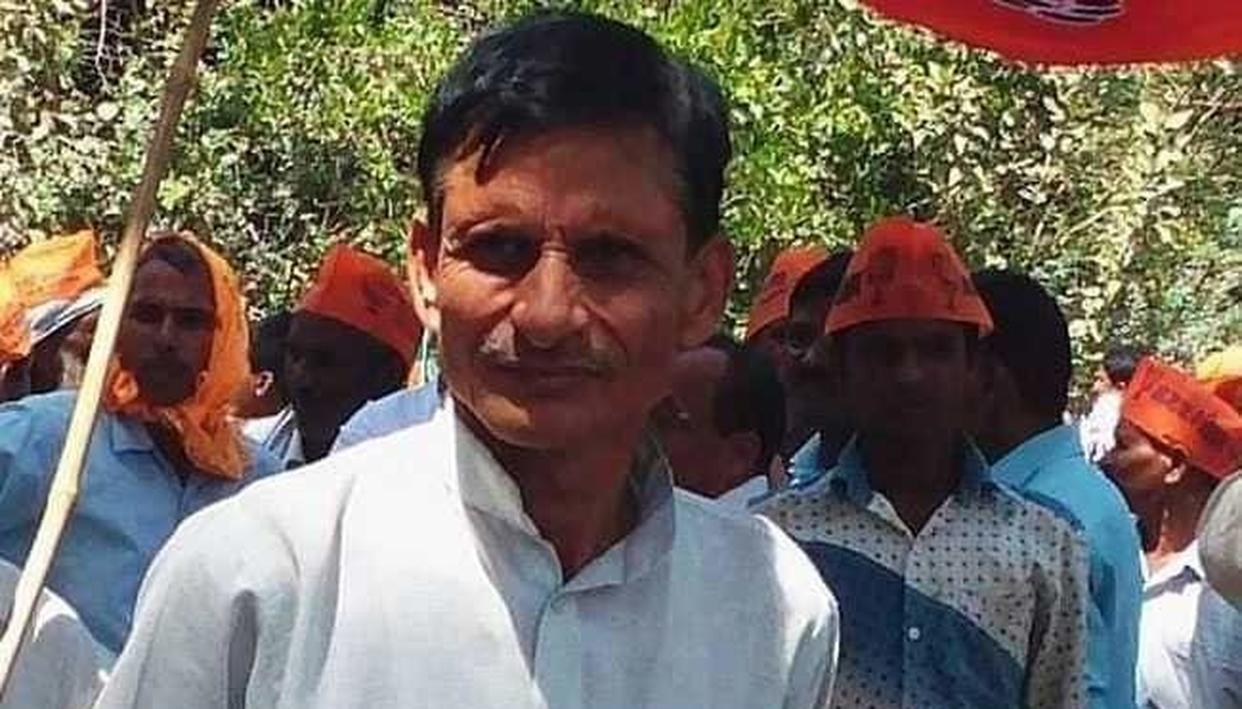 A CONGRESS LEADER HAS BEEN ARRESTED IN THE SURENDRA SINGH MURDER CASE IN AMETHI, TWEETS BJP LEADER RAKESH SINGH ON KILLING OF SMRITI IRANI'S CLOSE AIDE