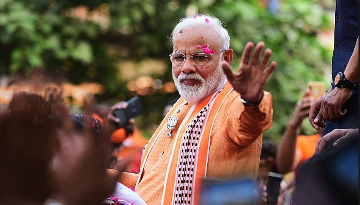 """TO CREATE THE PERCEPTION THEY WANTED, THEY SPREAD LIES,"" SAYS PM MODI OBSERVING THAT 'ARITHMETIC HAD BEATEN CHEMISTRY' IN THE 2019 LOK SABHA ELECTIONS, IN HIS 'THANK YOU' ADDRESS AT VARANASI"