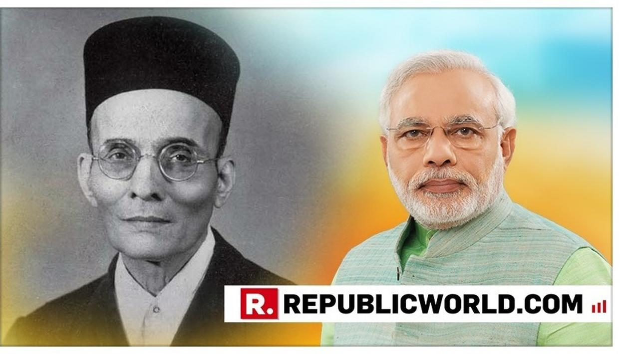 PM MODIPAYSTRIBUTES VEER SAVARKAR, SAYS HE EPITOMISES COURAGE AND COMMITMENT TOWARDS NATION. READ HERE