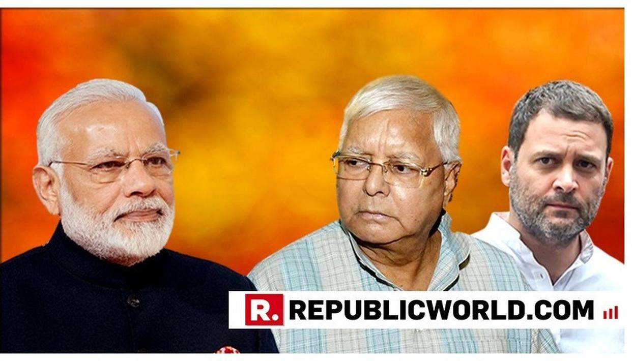 """RAHUL GANDHI'S OFFER TO RESIGN IS SUICIDAL,"" WARNS LALU PRASAD BACKING THE CONGRESS PRESIDENT AND TELLING REGIONAL POWERS THEIR BIGGEST BLUNDER IN 2019 LOK SABHA POLLS"