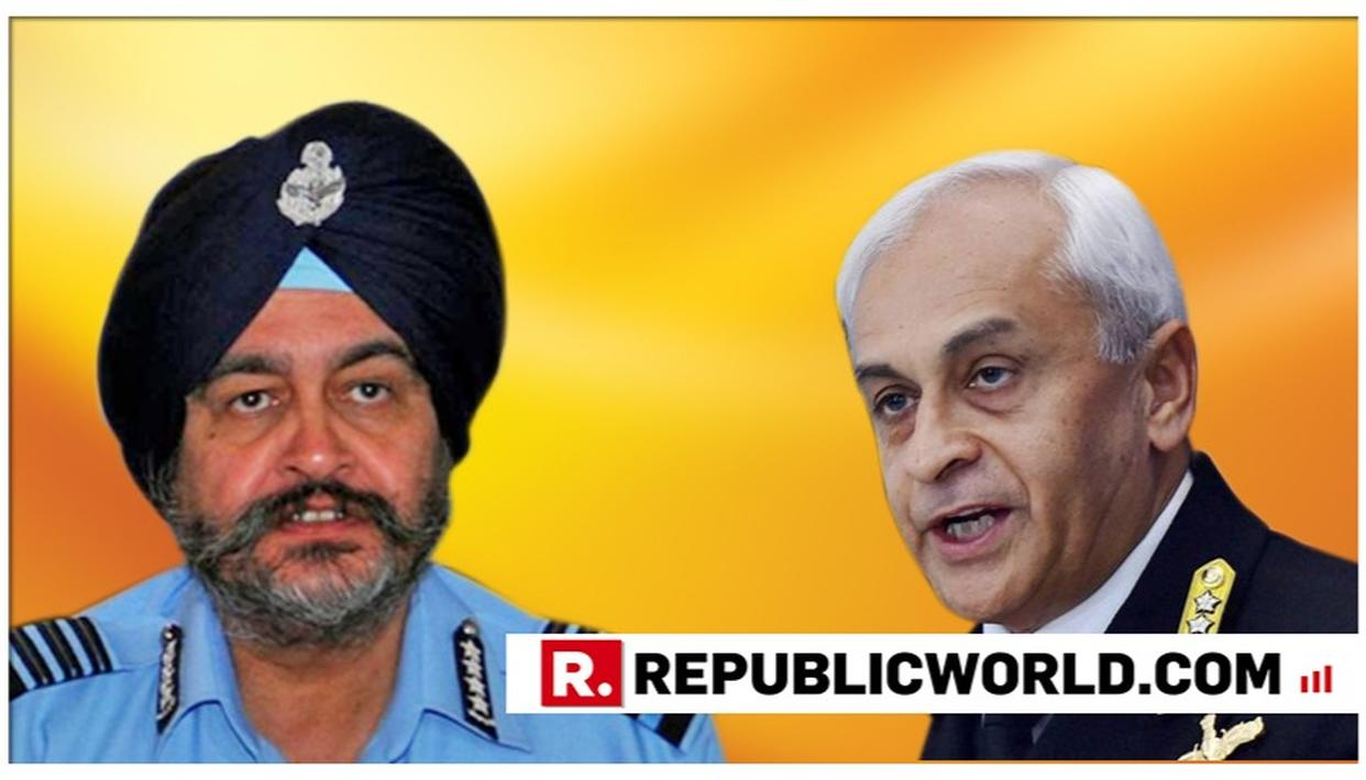 AIR CHIEF MARSHAL BS DHANOA TO TAKE OVER AS CHAIRMAN, CHIEFS OF STAFFS COMMITTEE FROM ADMIRAL SUNIL LANBA AFTER HIS RETIREMENT