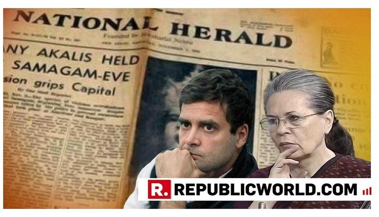 BIG BLOW TO GANDHIS: ED PERMANENTLY ATTACHES PROPERTIES WORTH RS 64 CRORE IN NATIONAL HERALD CASE