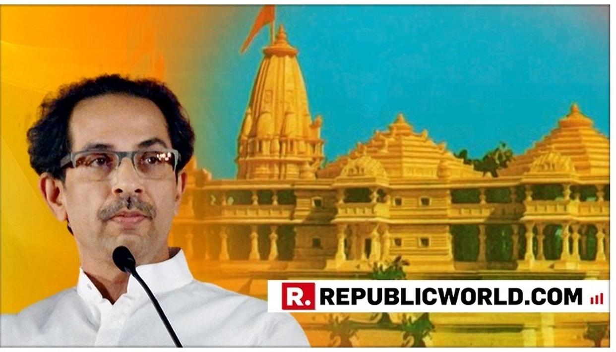 """RAM KA KAAM HOGA"": SHIV SENA'S MOUTHPIECE 'SAAMANA' SAYS 'PARTY WITH LORD RAM MINDSET HAS COME TO POWER'"