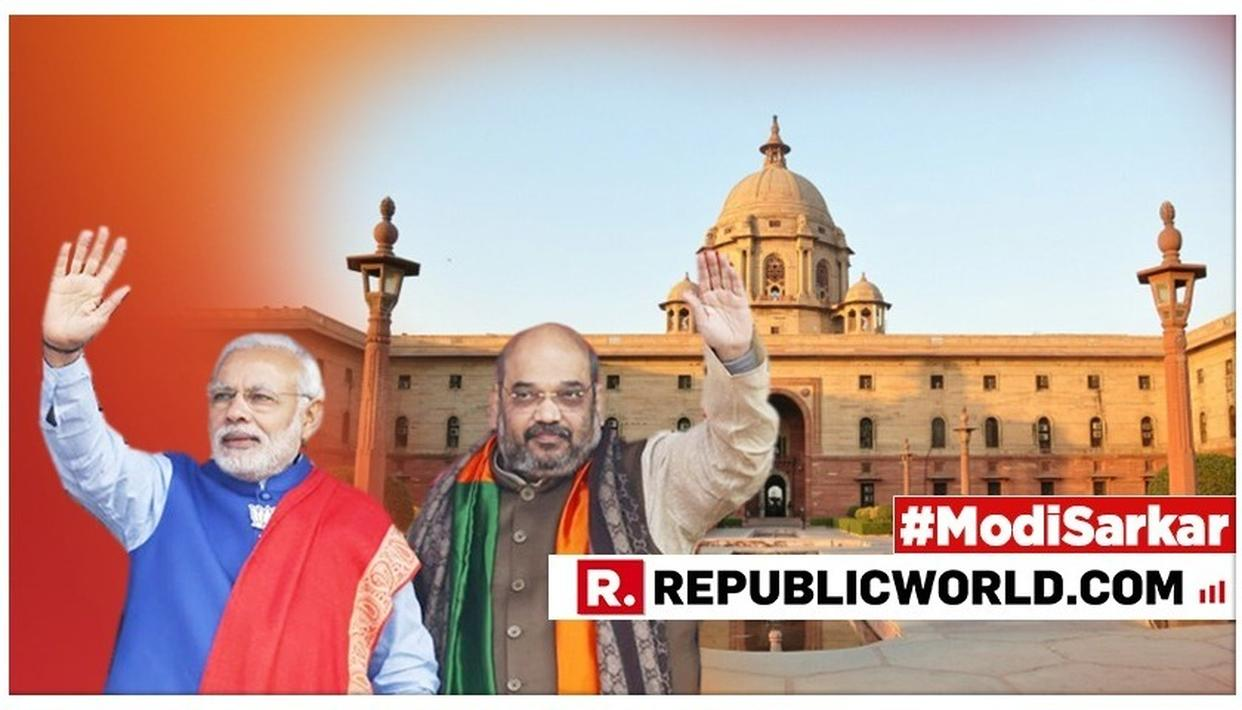 PM NARENDRA MODI, BJP CHIEF AMIT SHAH MEET TO GIVE FINAL SHAPE TO MINISTRY, SELECTED MINISTERS TO MEET PM MODI AT HIS RESIDENCE