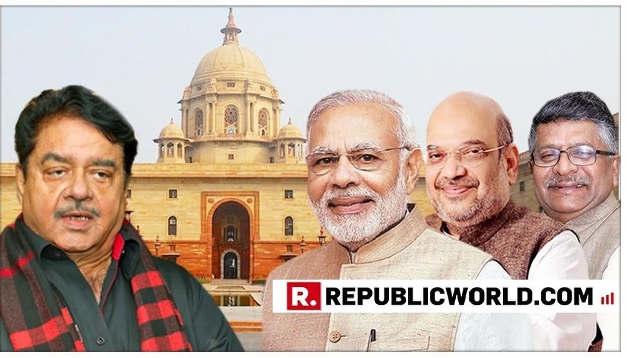 CONGRESS LEADER SHATRUGHAN SINHA WISHES PATNA SAHIB RIVAL RAVI SHANKAR PRASAD ON TAKING OATH AS UNION MINISTER, WISHES PM MODI AND HIS TEAM FOR THEIR NEW TERM