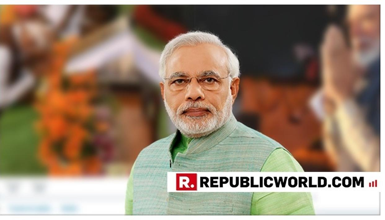PM MODI CHANGES PROFILE AND COVER PHOTOS OF HIS OFFICIAL & PERSONAL TWITTER HANDLES AFTER TAKING OATH FOR HIS SECOND TERM IN OFFICE