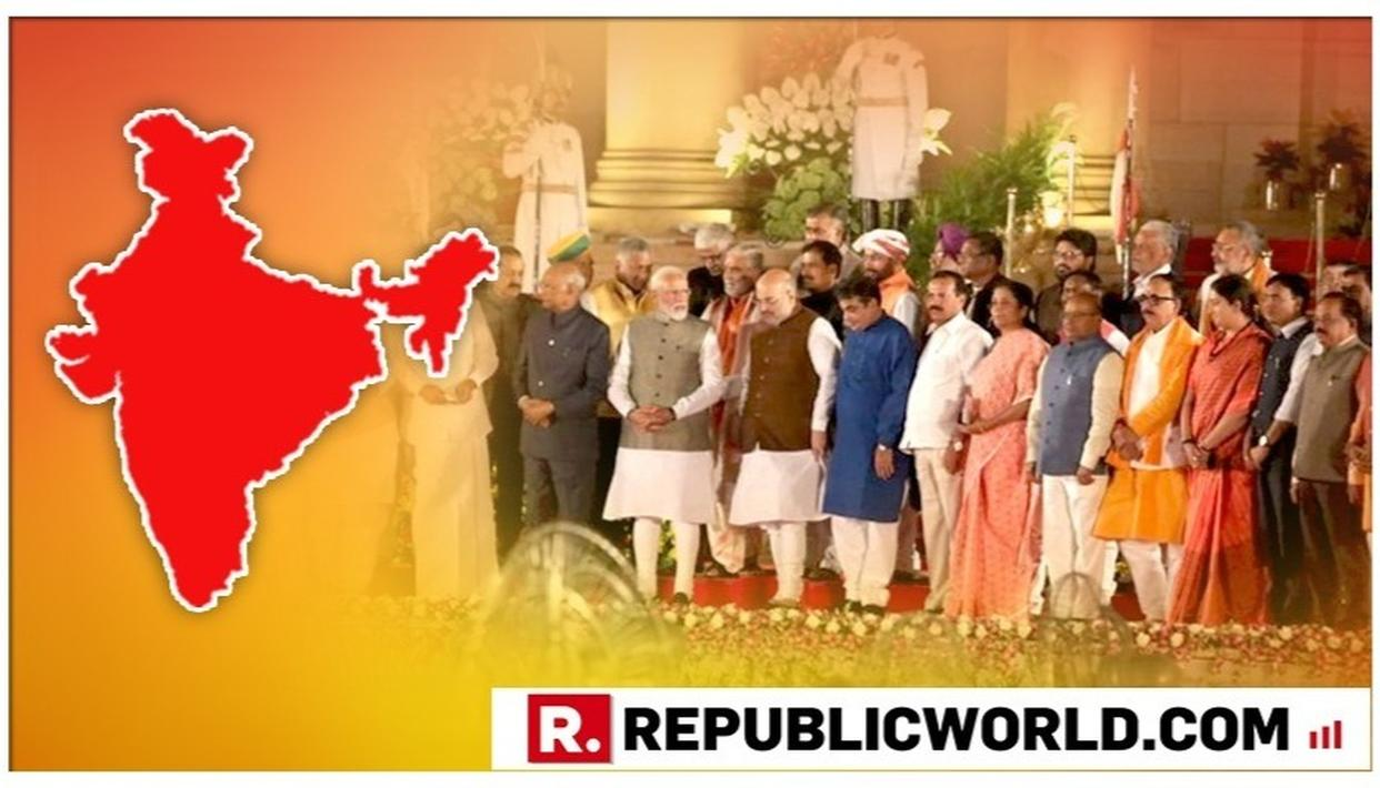 21 STATES - 58 MINISTERS: HERE'S THE STATE-WISE BREAKUP OF THE ALL-NEW MODI CABINET THAT TOOK OATH AT RASHTRAPATI BHAVAN