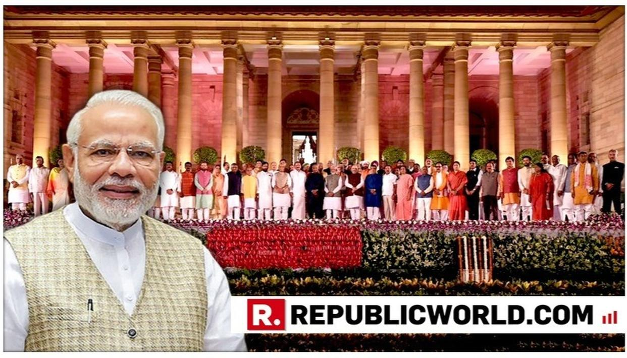 'BLEND OF YOUTHFUL ENERGY AND ADMINISTRATIVE EXPERIENCE,' SAYS PM NARENDRA MODI POSTING PICTURES OF HIS NEW CABINET