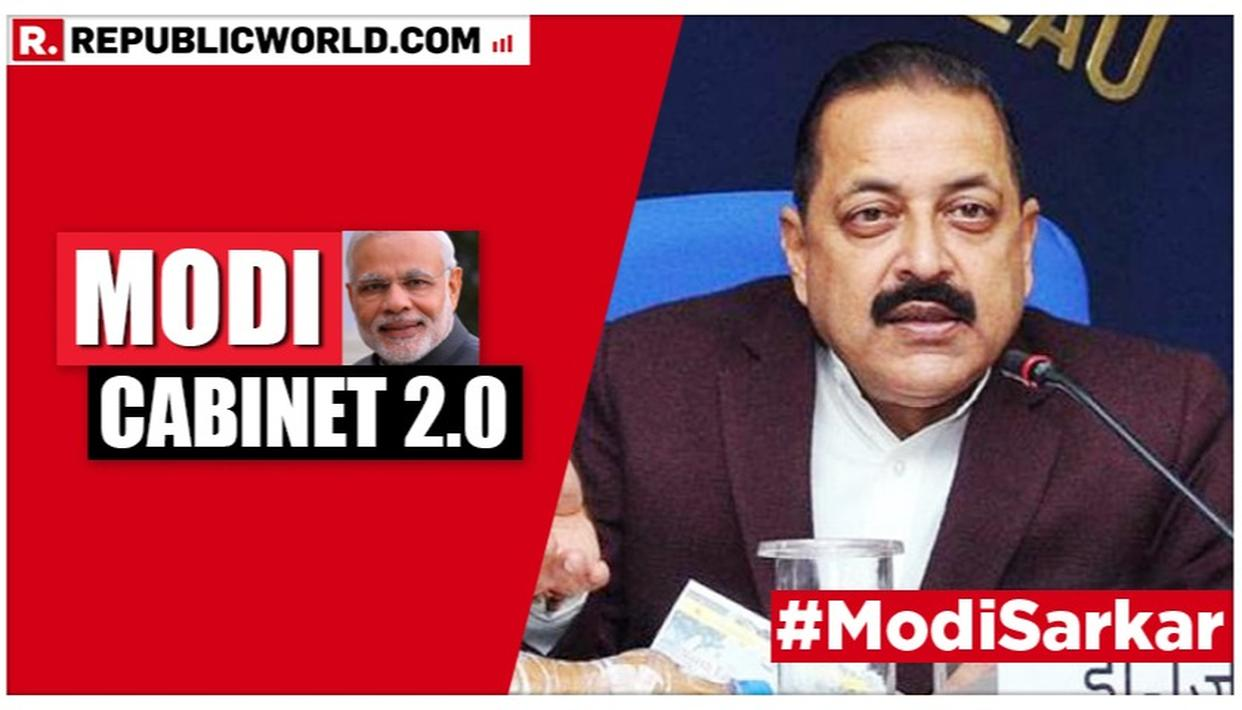 MODI CABINET 2.0: A KNOWN FACE IN NATIONAL POLITICS FROM J&K TO DELHI, JITENDRA SINGH SWORN IN AS MOS WITH INDEPENDENT CHARGE