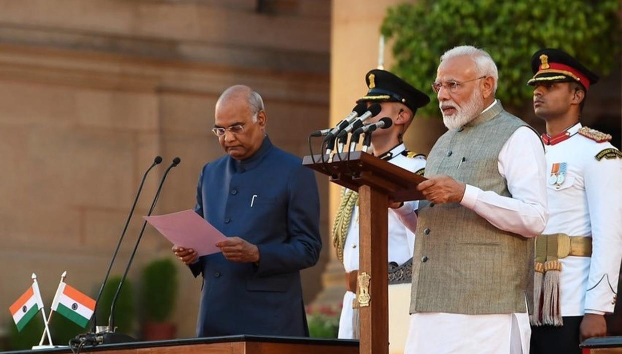 INDIANS IN UAE REJOICE PM MODI'S SWEARING-IN CEREMONY