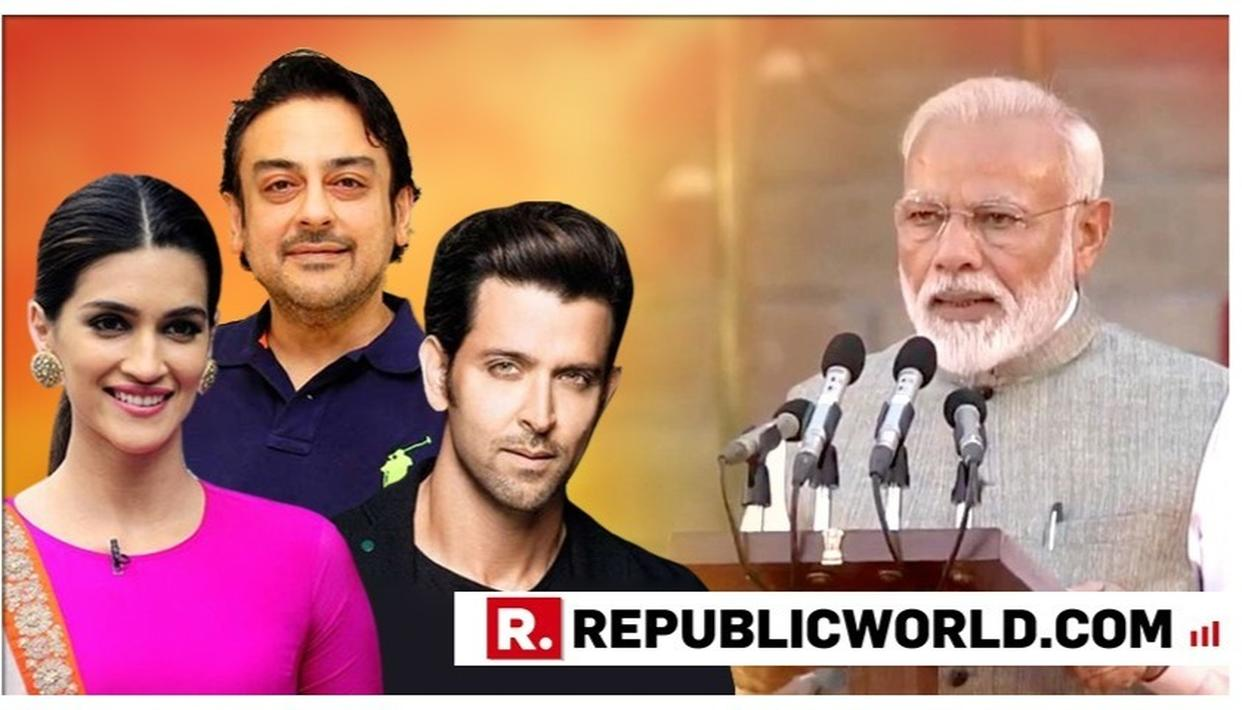 'LOOKING FORWARD TO OUR COUNTRY REACHING MANY MORE MILESTONES': HRITHIK ROSHAN, KRITI SANON, ADNAN SAMI, OTHERS WISH PM MODI AS HE TAKES CHARGE FOR THE SECOND TIME; HERE'S WHAT THEY WROTE