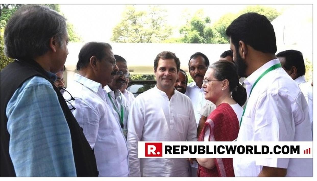 """WATCH: """"WE WILL WORK TOGETHER LIKE A PRIDE OF BRAVE HEARTED LIONS TO PROTECT OUR CONSTITUTION,"""" SAYS RAHUL GANDHI AFTER HIS MOTHER WAS ELECTED LEADER OF CPP"""