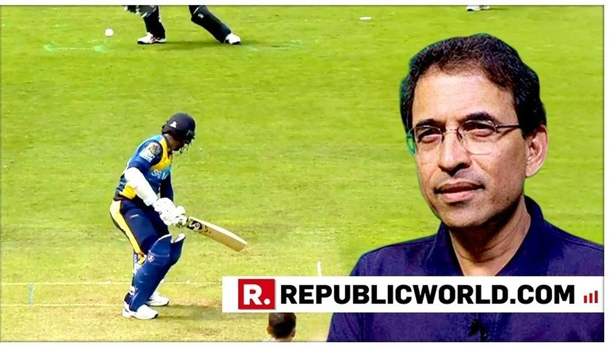 WORLD CUP 2019: 'WE HAVE TO ADDRESS THE ISSUE OF...': HARSHA BHOGLE OBSERVES AS SRI LANKA CAPTAIN DIMUTH KARUNARATNE GETS A LIFELINE IN THEIR FIRST MATCH AGAINST NEW ZEALAND