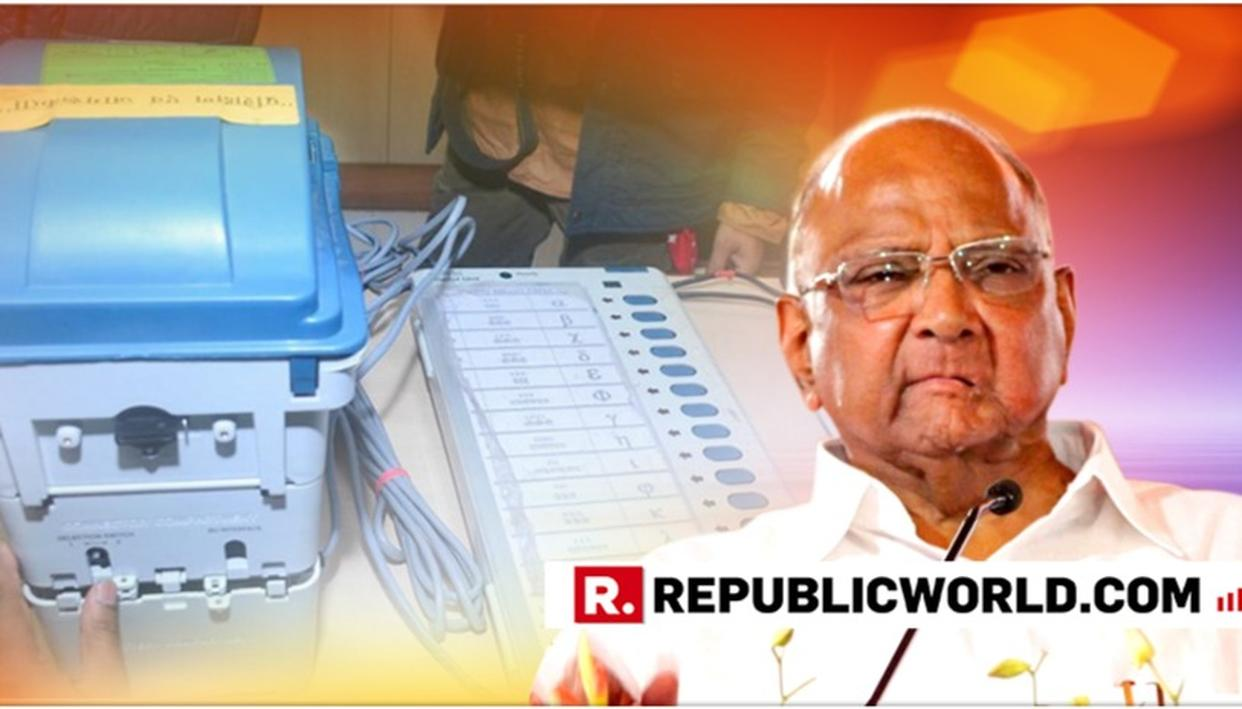 NCP CHIEF SHARAD PAWAR MAKES A SENSATIONAL ALLEGATION, SAYS 'DOUBT THAT BJP'S LOSS IN RAJASTHAN, CHHATTISGARH, MADHYA PRADESH WAS TO WIN GENERAL ELECTIONS'