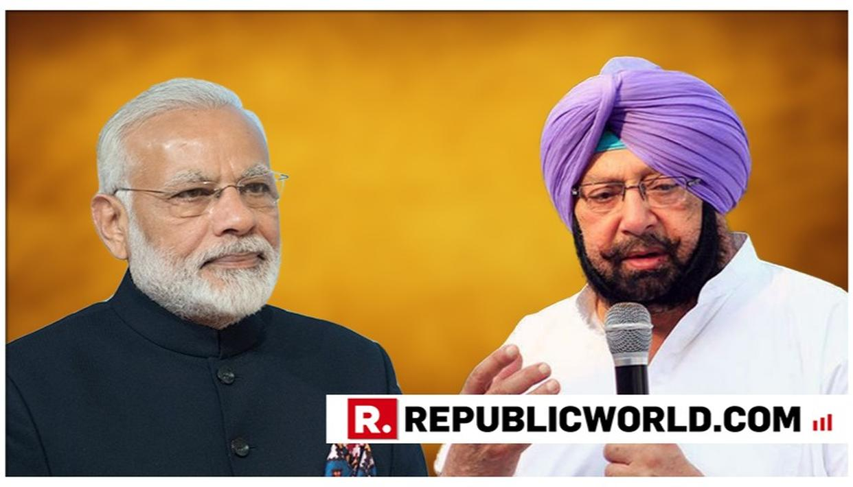 PUNJAB CM WRITES TO PM MODI; REITERATES DEMAND FOR NATIONAL DRUG POLICY
