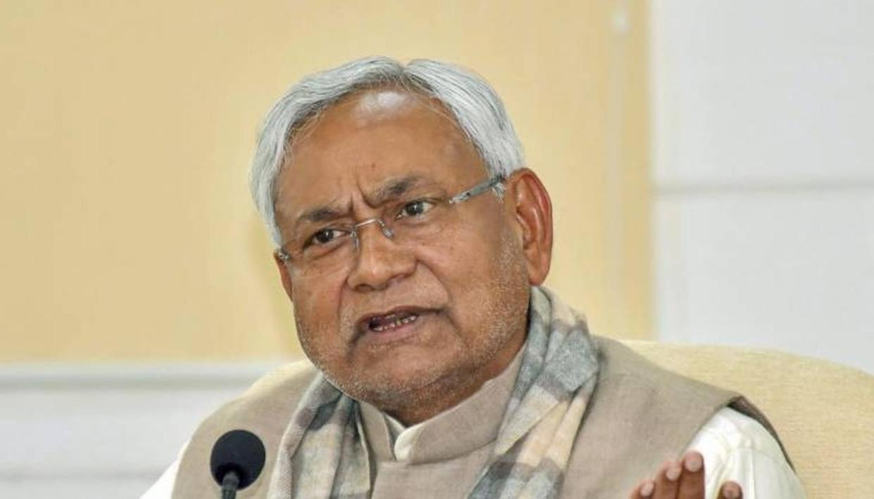 EVERYTHING IS FINE BETWEEN JDU AND BJP, SAYS NITISH KUMAR