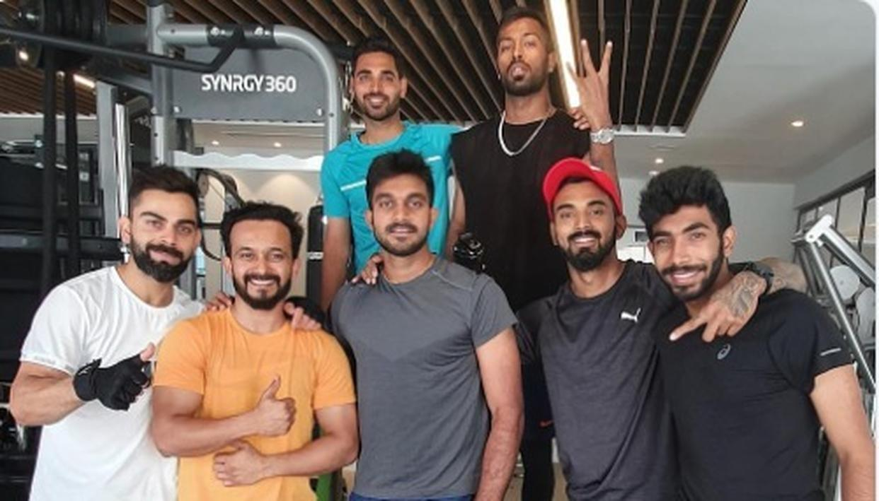 WORLD CUP 2019 | 'TOP SESSION'; VIRAT KOHLI & CO. ARE ALL SMILES AS THEY SWEAT IT OUT TOGETHER IN THE GYM AHEAD OF FIRST MATCH AGAINST SOUTH AFRICA