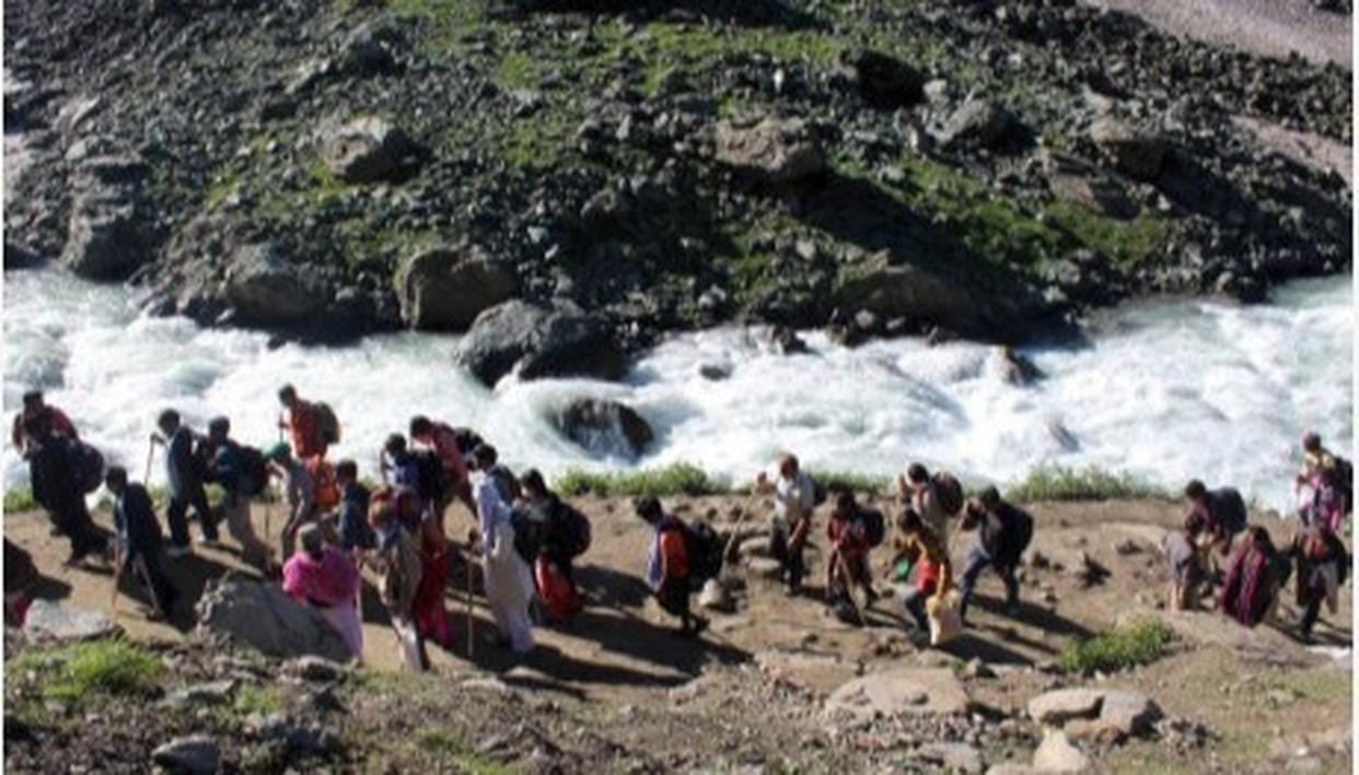 OVER 1 LAKH PILGRIMS REGISTER FOR AMARNATH PILGRIMAGE STARTING JULY 1