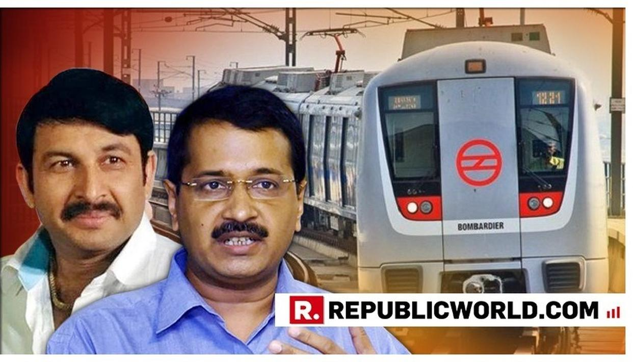 MANOJ TIWARI DISMISSES AS A 'GIMMICK' DELHI CM ARVIND KEJRIWAL'S MOVE TO MAKE BUS AND METRO TRAVEL IN NATIONAL CAPITAL FREE. HERE'S WHAT HE SAID