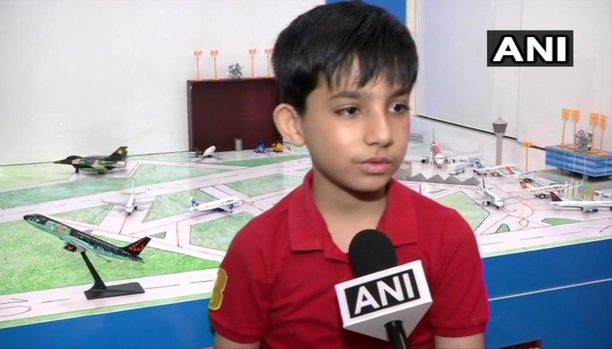 9-YEAR-OLD GETS INVITATION TO CELEBRATE BIRTHDAY AT IGI AIRPORT