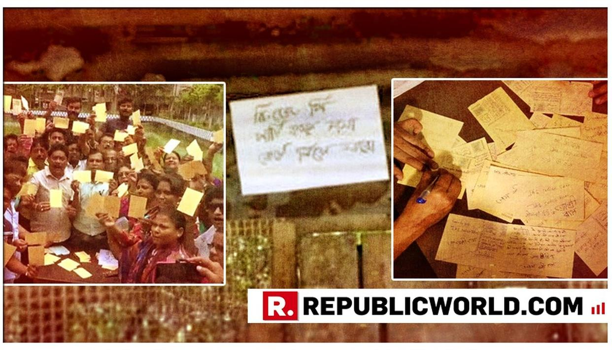 WATCH: POSTERS MAKING VIOLENT THREATS APPEAR IN WEST BENGAL AS BJP VERSUS TRINAMOOL WAR ESCALATES