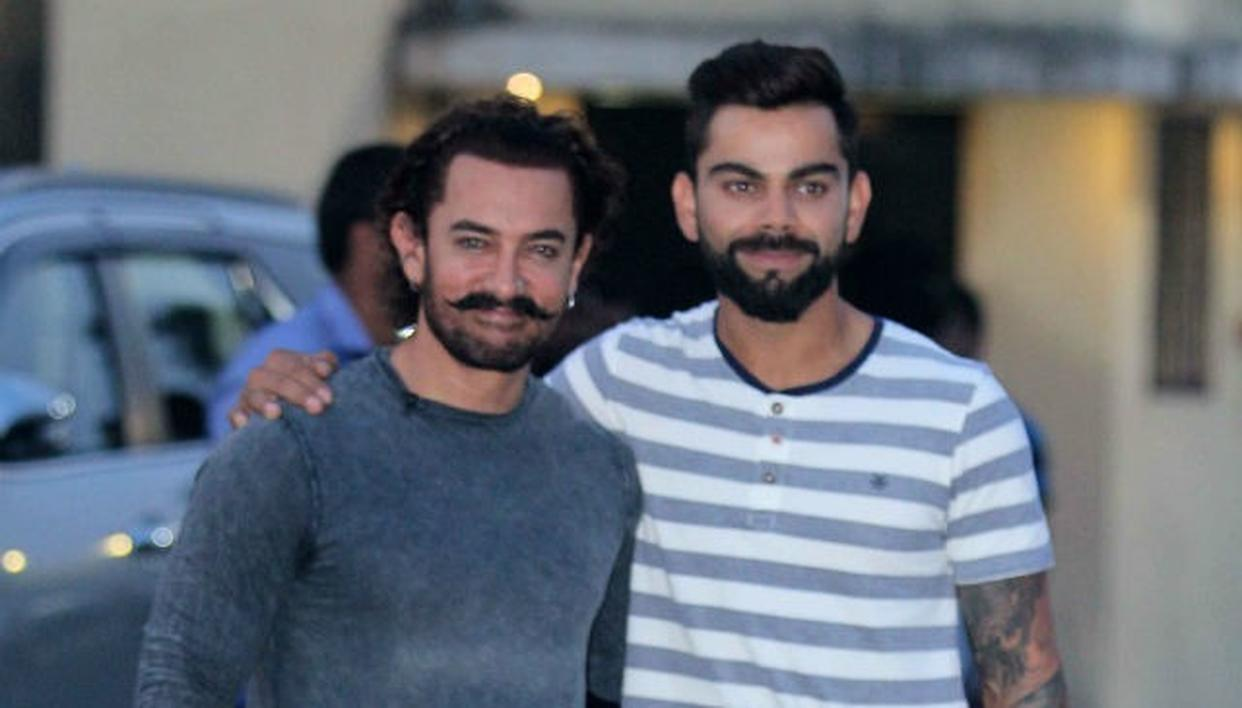 AAMIR WISHES TEAM INDIA