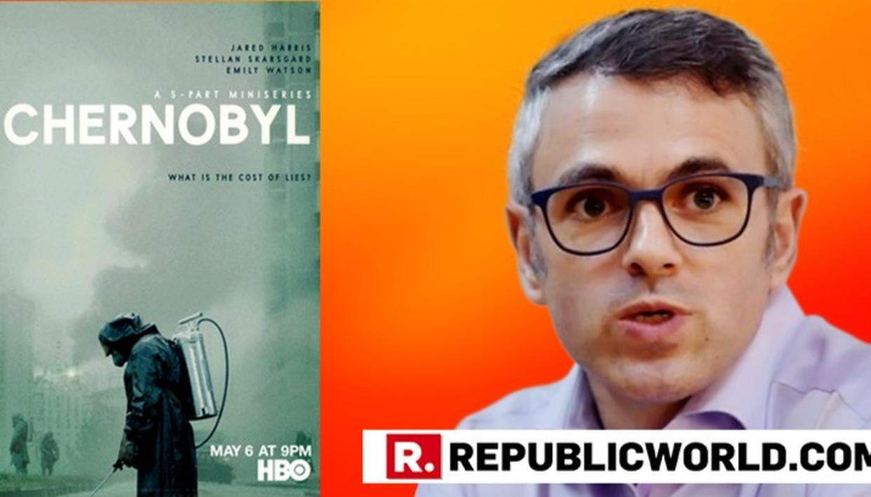 'CHERNOBYL - MOST COMPELLING TV', SAYS OMAR ABDULLAH RECOMMENDING THE HBO-MINISERIES BASED ON THE 1986 NUCLEAR DISASTER