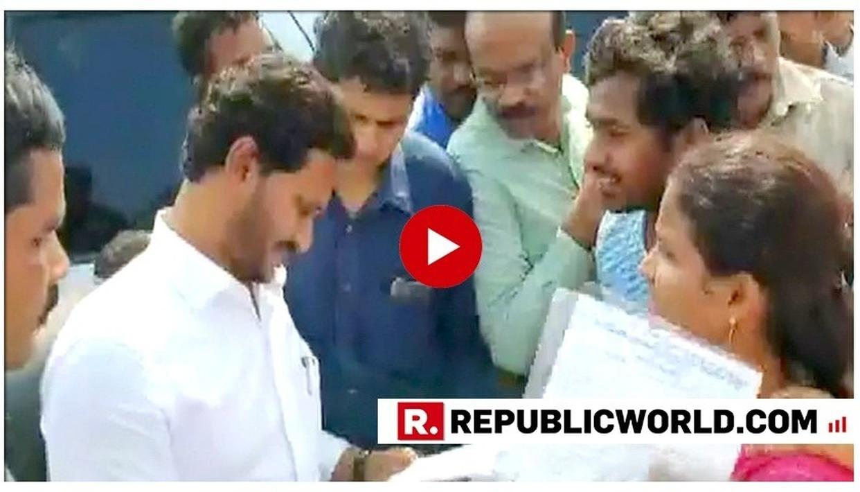 WATCH: ANDHRA PRADESH CM JAGAN MOHAN REDDY STOPS CAVALCADE TO HELP A CANCER PATIENT IN VIZAG, SANCTIONS RS 20 LAKH FOR TREATMENT
