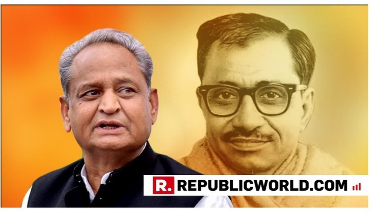 ASHOK GEHLOT-LED GOVERNMENT IN RAJASTHAN DROPS DEENDAYAL UPADHYAY'S NAME FROM SCHOLARSHIP TEST