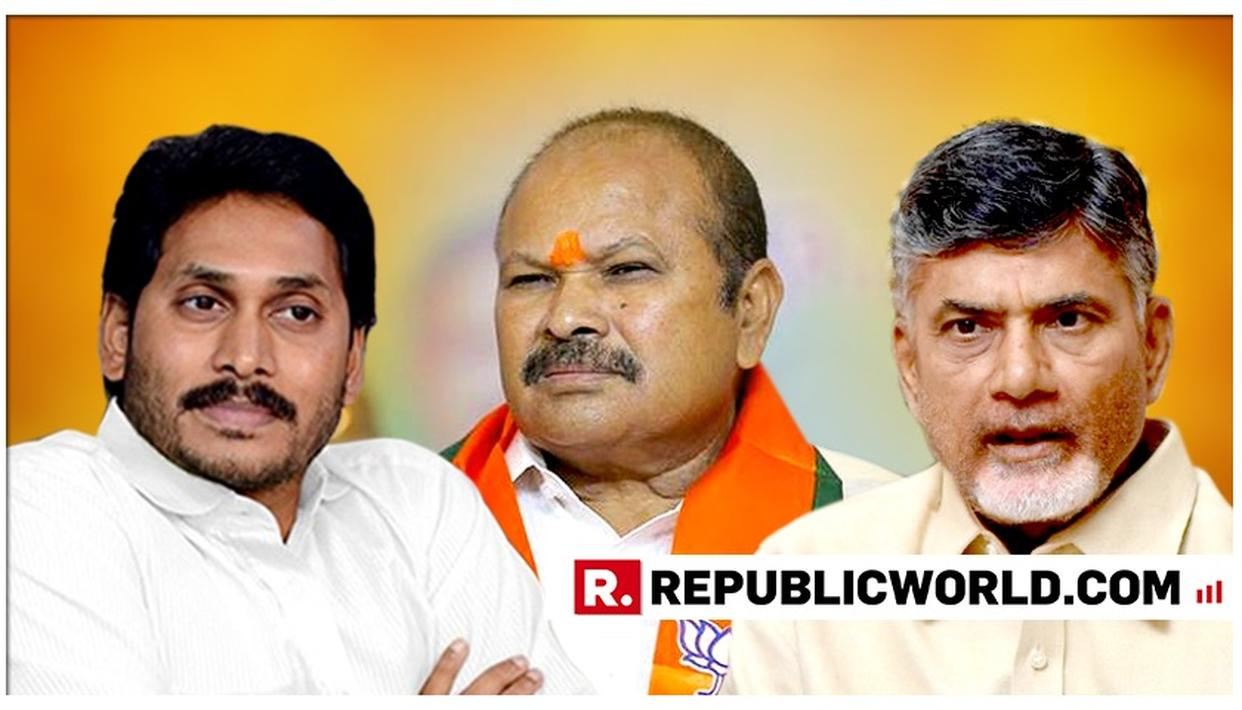 ANDHRA PRADESH BJP CHIEF WRITES 7 LETTERS TO CM JAGANMOHAN REDDY, LEVELS CORRUPTION CHARGES AGAINST CHANDRABABU NAIDU GOVT