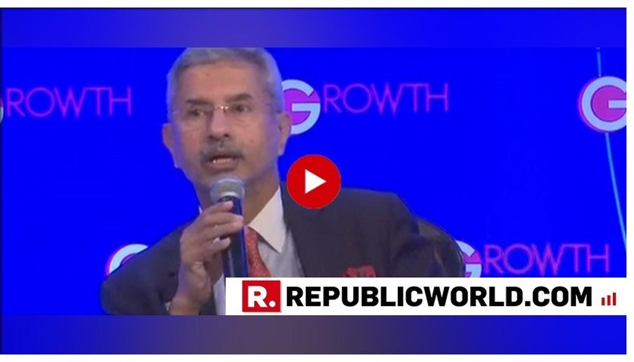 WATCH: EAM JAISHANKAR SHARES VIEWS ON THE RISE OF NATIONALISM IN FIRST ADDRESS SINCE TAKING CHARGE, SAYS 'NATIONALISM IN INDIA IS OF CONFIDENCE'