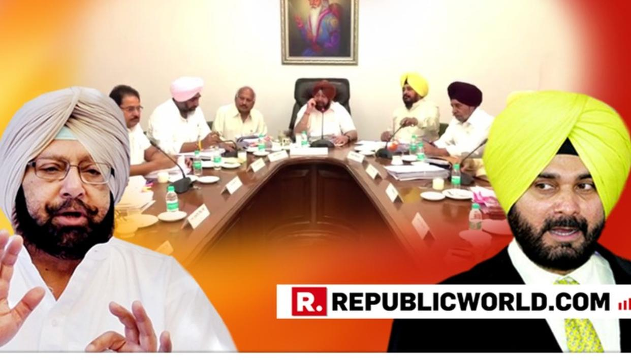 WATCH: NAVJOT SINGH SIDHU SKIPS PUNJAB CABINET MEETING AMID RIFT WITH CM CAPTAIN AMARINDER SINGH