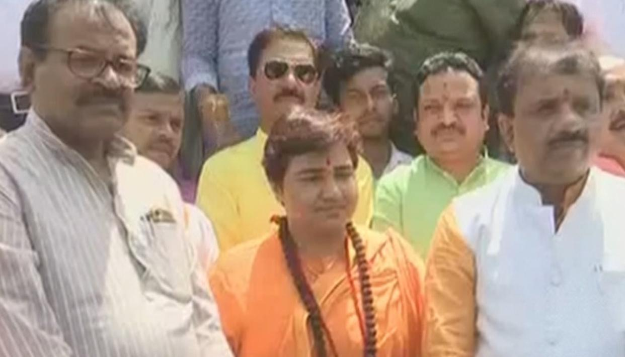 WATCH: SADHVI PRAGYA THAKUR SKIPS COURT SUMMONS IN 2008 MALEGAON CASE CITING HEALTH REASONS, INSTEAD GOES TO ATTEND POLITICAL EVENT