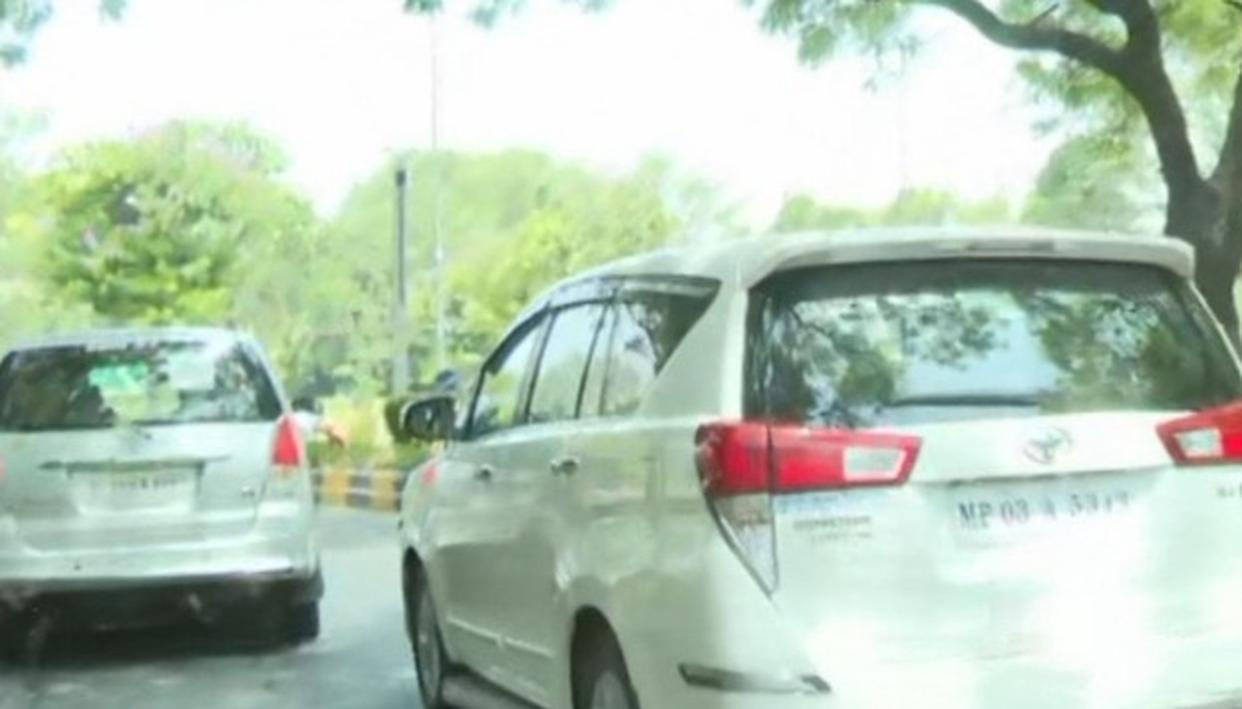 WATCH: M.P CM KAMAL NATH EVADES QUESTIONS OVER VVIP ESCORT FOR HIS RELATIVES IN UJJAIN