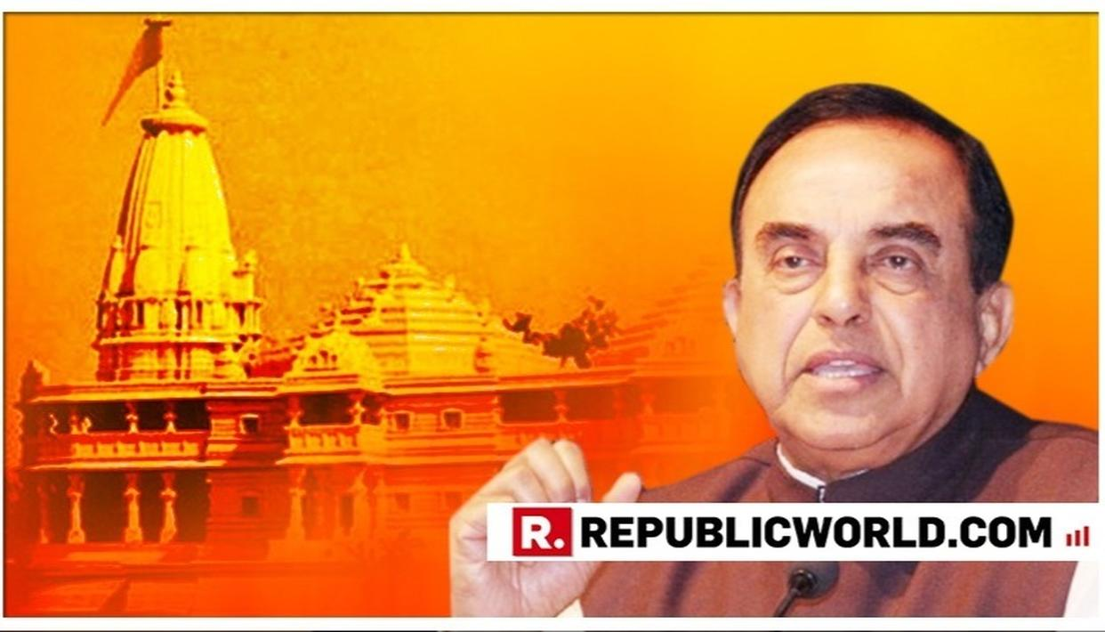 """WATCH: """"CONSTRUCTION OF RAM MANDIR SHOULD START NOW, PM HAS NO LEGAL REASON TO DELAY ANY FURTHER"""", SAYS DR. SUBRAMANIAN SWAMY STRONGLY PUSHING FOR CONSTRUCTION IN AYODHYA"""