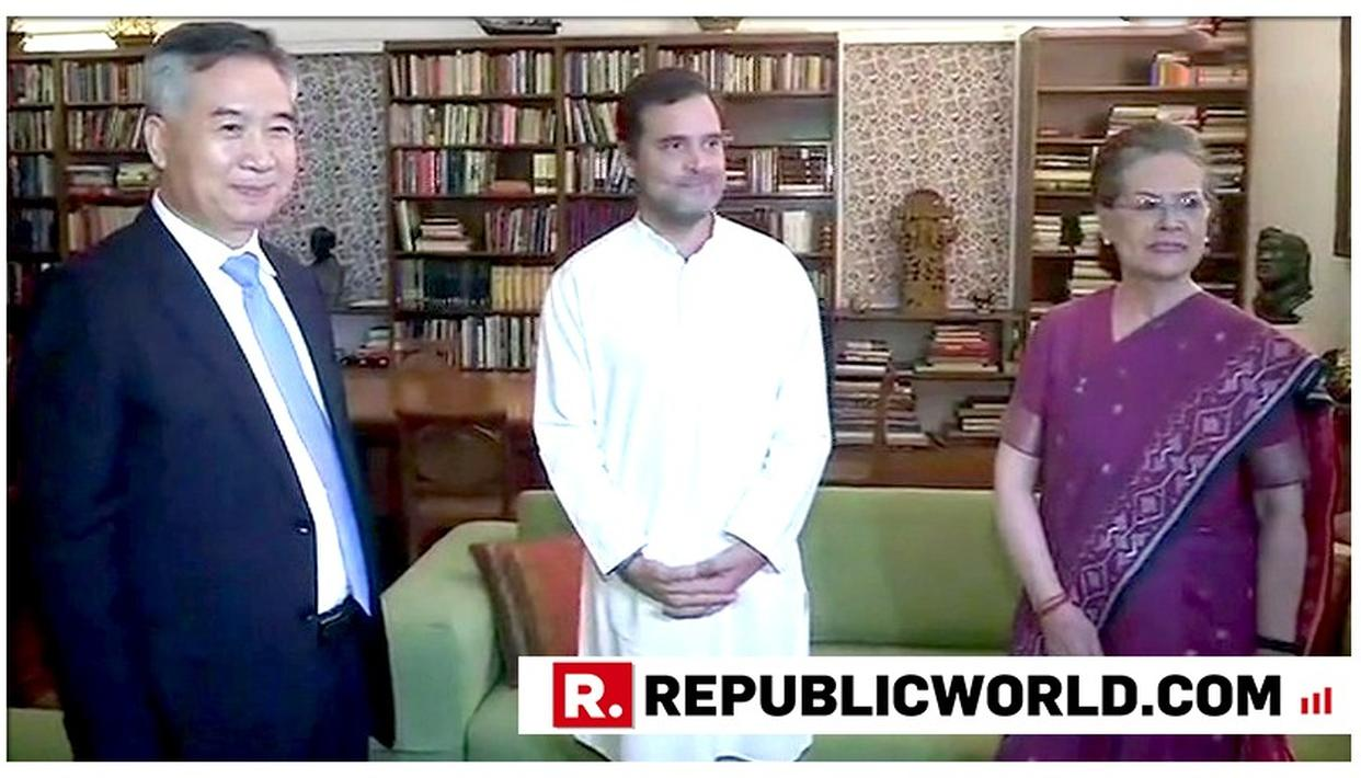 RAHUL GANDHI AND SONIA GANDHI HOLD YET ANOTHER MEETING WITH CHINESE DELEGATES