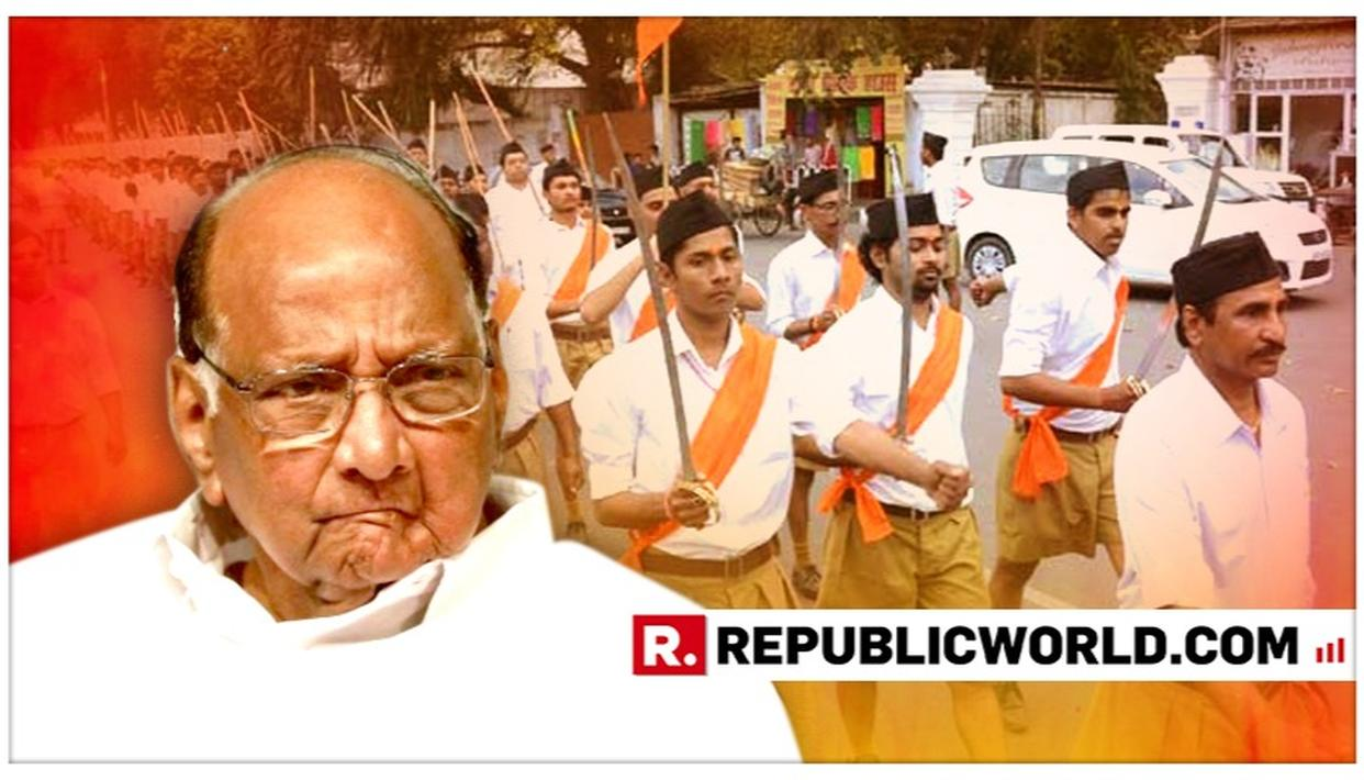 AFTER POLL DEBACLE, NCP CHIEF SHARAD PAWAR URGES PARTY WORKERS TO LEARN 'PERSEVERANCE' FROM RSS