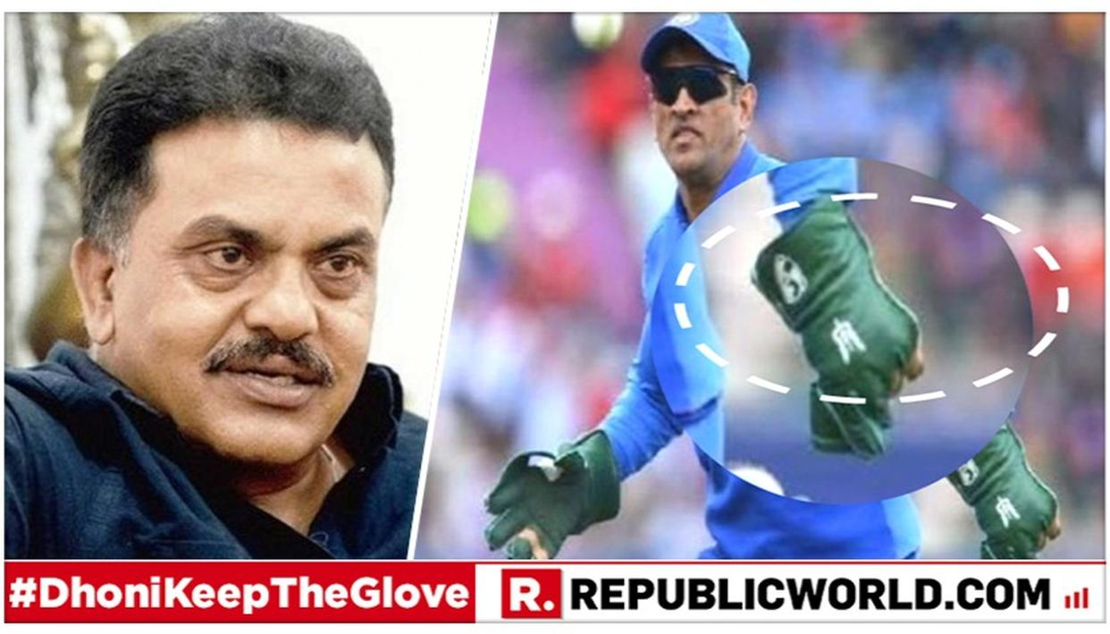 CONGRESS LEADER SANJAY NIRUPAM VOICES SUPPORT FOR MS DHONI AMID ICC'S OBJECTION TO 'BALIDAAN BADGE' ON HIS GLOVE