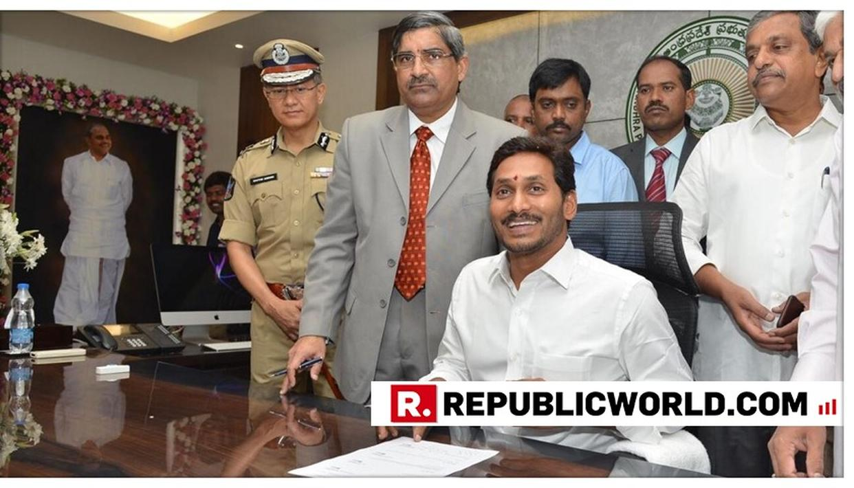 'I WILL FULFILL YOUR ASPIRATIONS...,' JAGAN MOHAN REDDY ASSUMES CHARGE OF HIS OFFICE AFTER YSRCP'S LANDSLIDE VICTORY IN ANDHRA PRADESH. HERE'S HIS MESSAGE