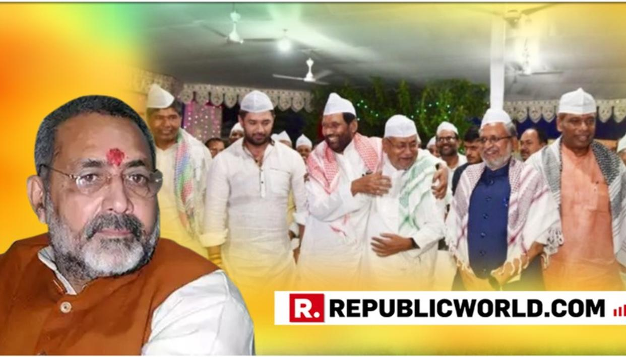 WATCH: GIRIRAJ SINGH REMAINS DEFIANT, STANDS BY HIS IFTAR JIBE AT BIHAR CM NITISH KUMAR DESPITE AMIT SHAH'S REPRIMAND