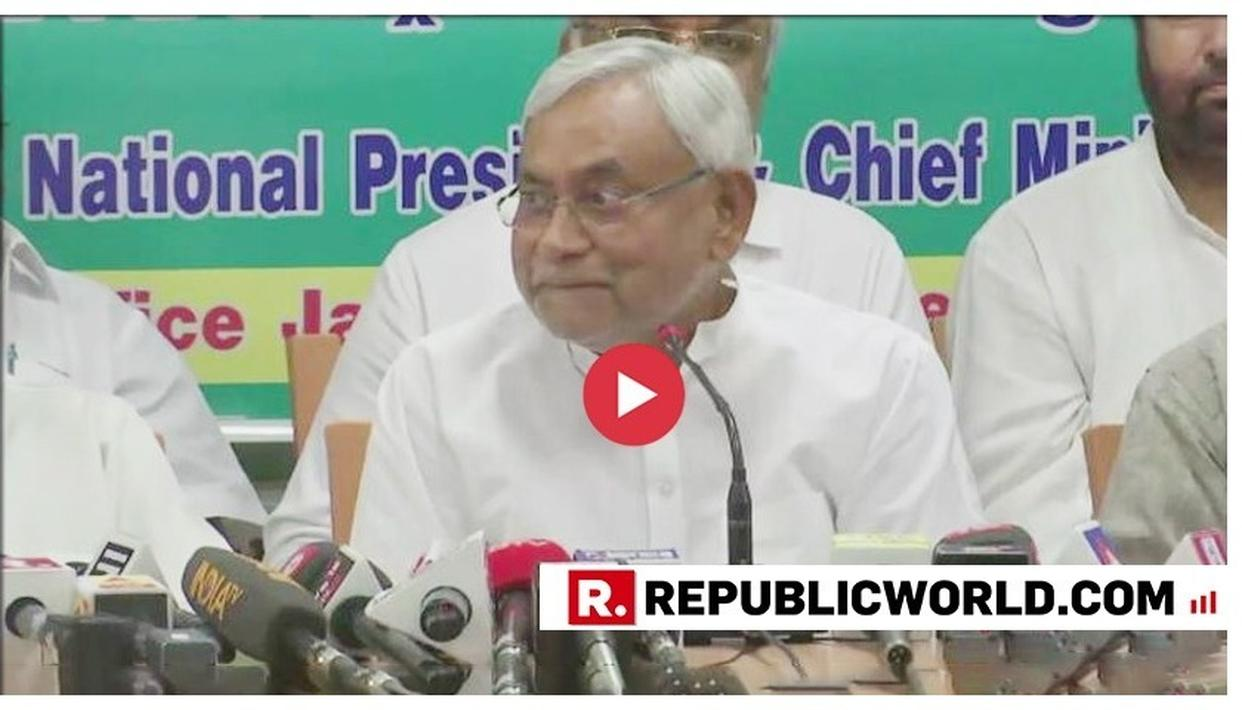 WATCH: NITISH KUMAR CLUELESS ON PRASHANT KISHOR-MAMATA BANERJEE PACT