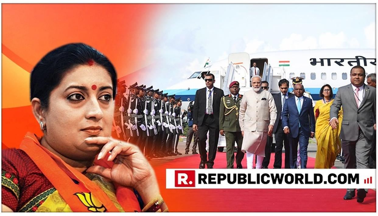 'A TESTIMONY TO INDIA'S GROWING STATURE IN THE WORLD' SAYS SMRITI IRANI ON PM MODI BEING CONFERRED WITH MALDIVES' HIGHEST HONOUR FOR FOREIGN DIGNITARY
