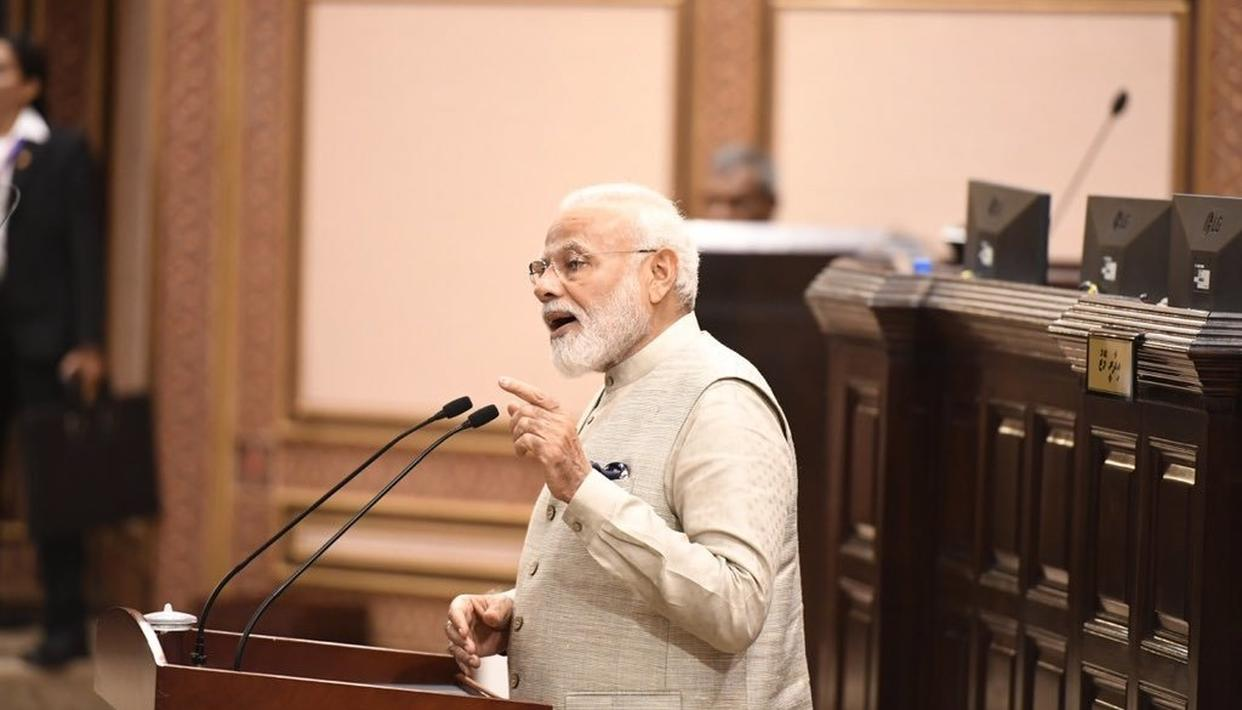 FULL VIDEO: PM NARENDRA MODI ADDRESSES MALDIVES PARLIAMENT