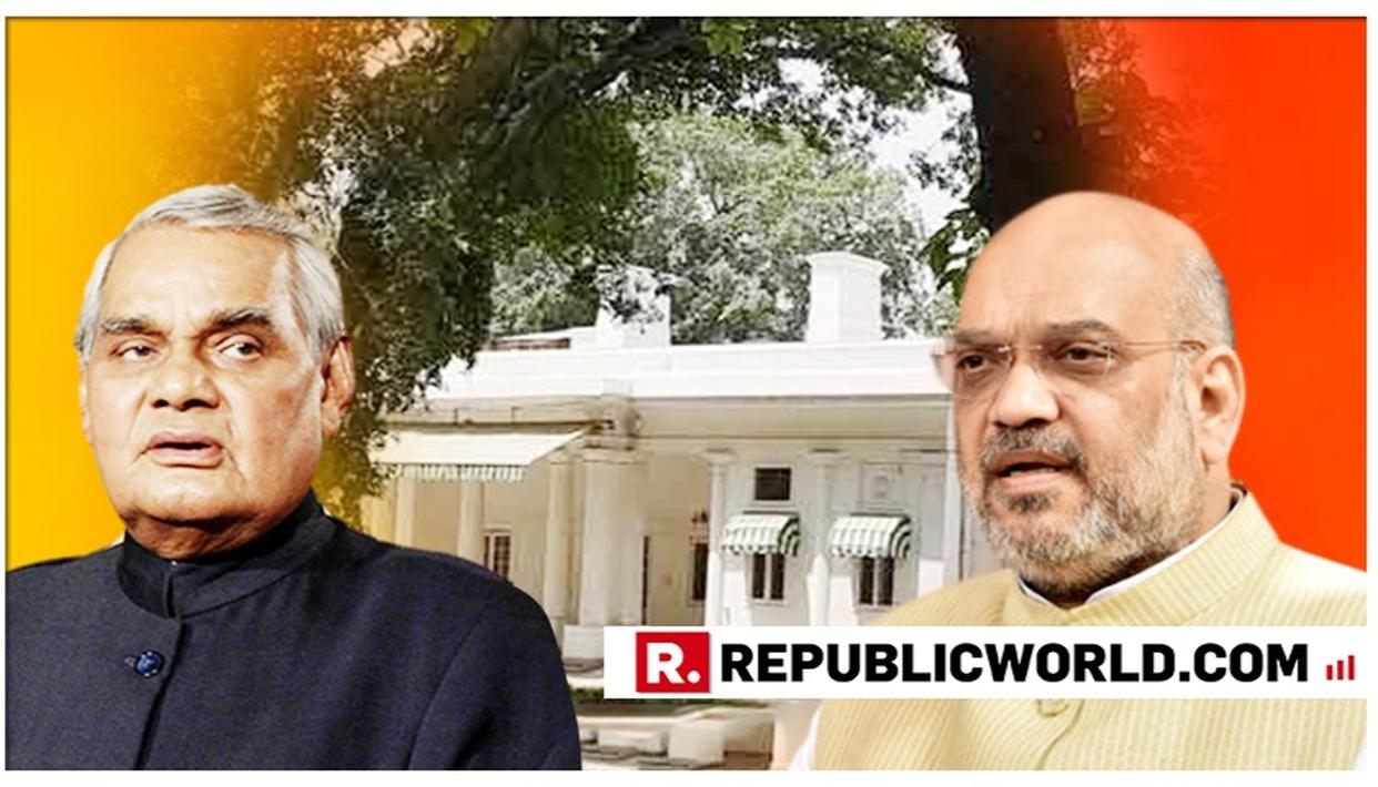 PARLIAMENT HOUSE ARCHITECT ONCE RESIDED IN FORMER PM VAJPAYEE'S BUNGALOW, WHICH IS LIKELY TO BE ALLOCATED TO UNION HOME MINISTER AMIT SHAH