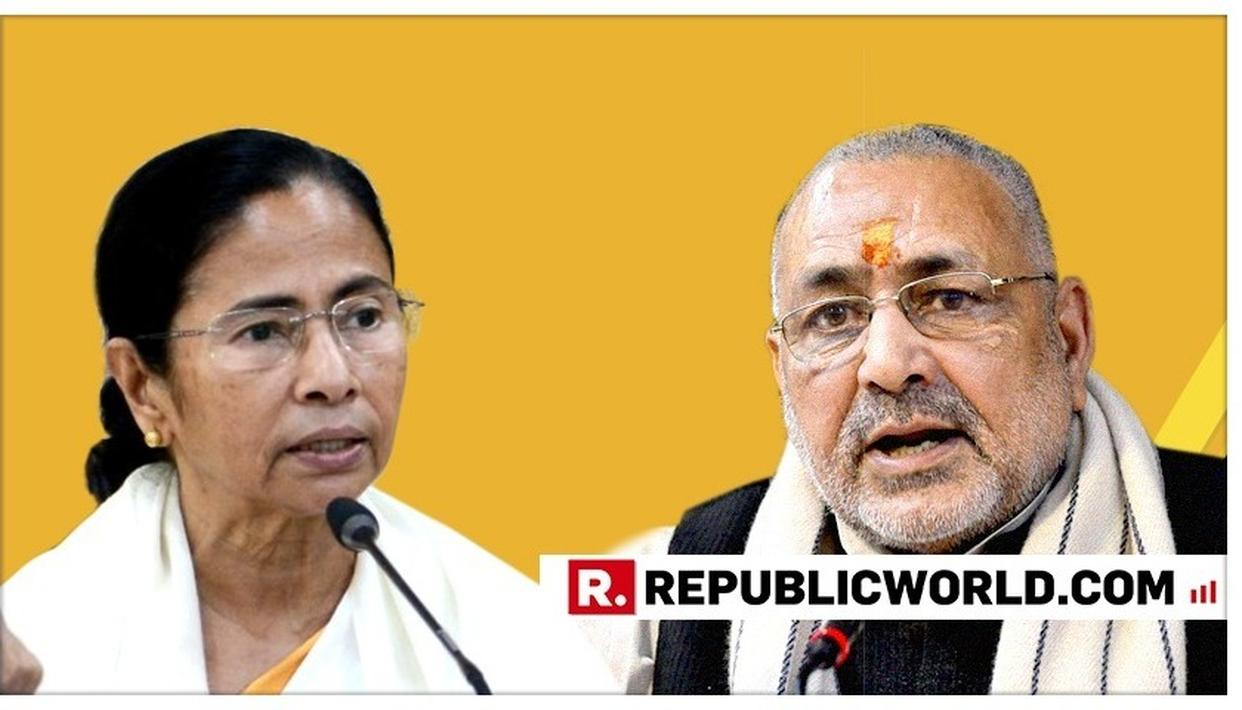 """HER COUNTDOWN HAS BEGUN"": UNION MINISTER GIRIRAJ SINGH TAKES A DIG AT TMC CHIEF MAMATA BANERJEE"